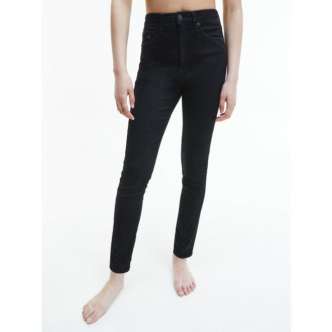 High Rise Super Skinny Ankle Jeans Women - Denim Black