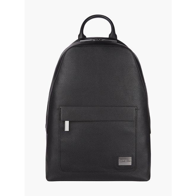 Round CK Backpack Men - Black