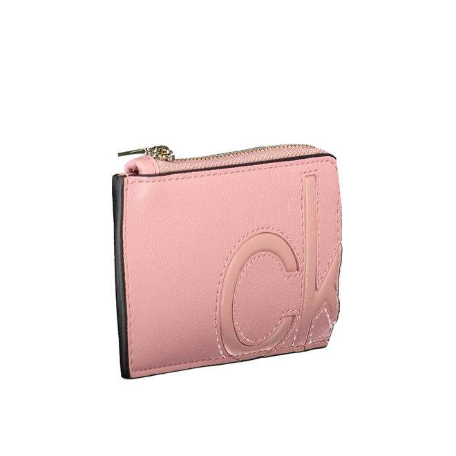 Card Case Wallet Women - Pink
