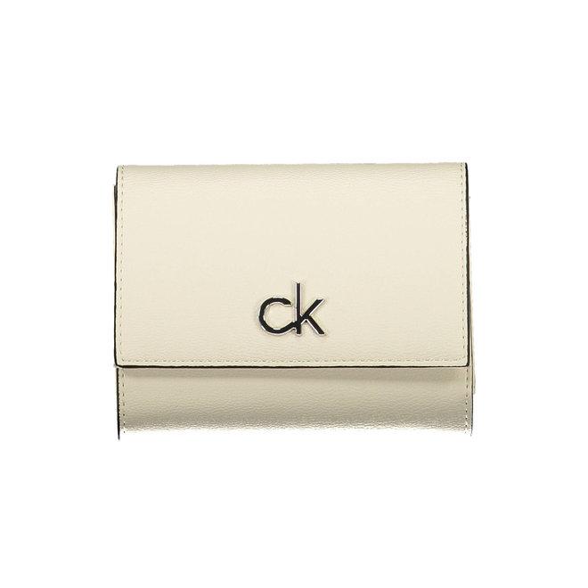 Trifold CK Wallet Women - CK White