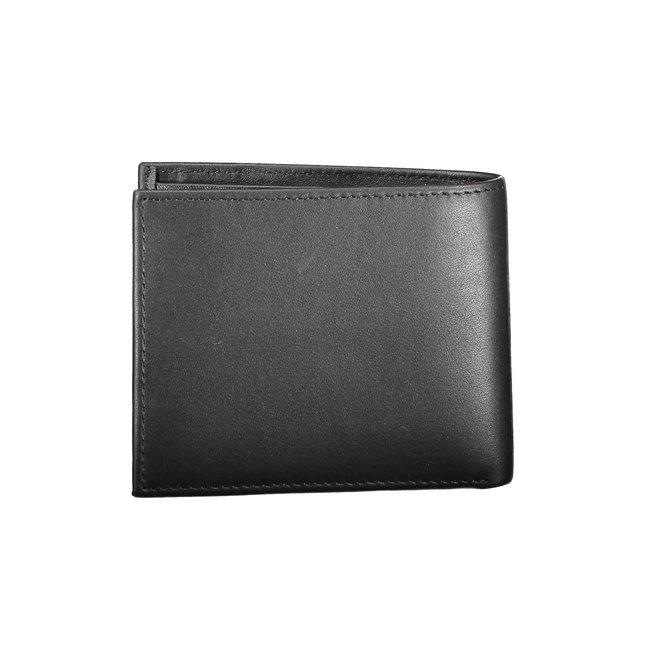Rfid-Blocking Leather Slimfold Wallet Men - CK Black