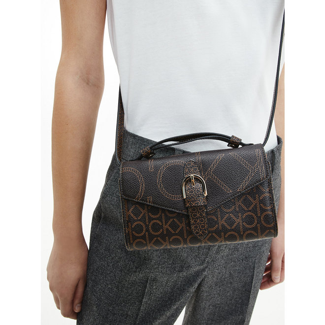 Mini CK Wallet Bag Women - Brown Mono