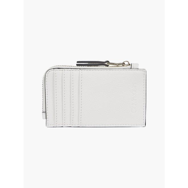 Card Case Wallet Women - CK White