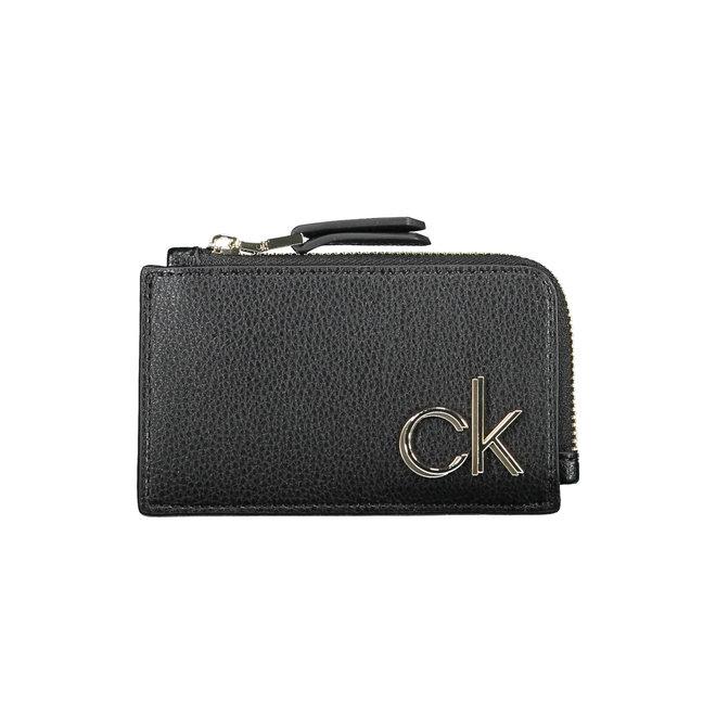 Card Case Wallet Women - Black
