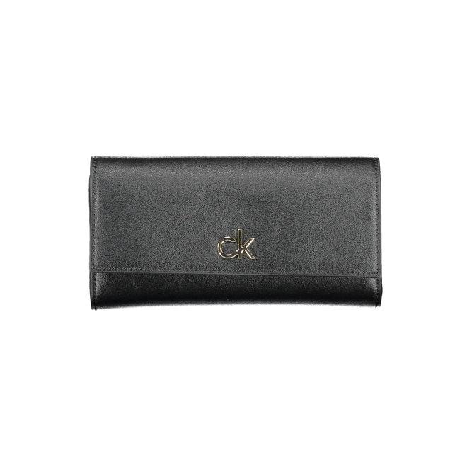 Re-Lock RFID Wallet synthetic- CK  Black