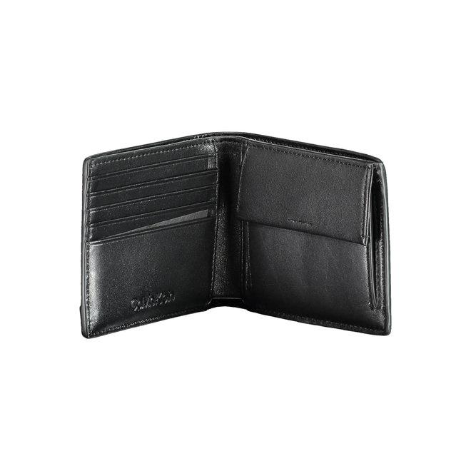 CK Logo-lettering  Wallet - Black