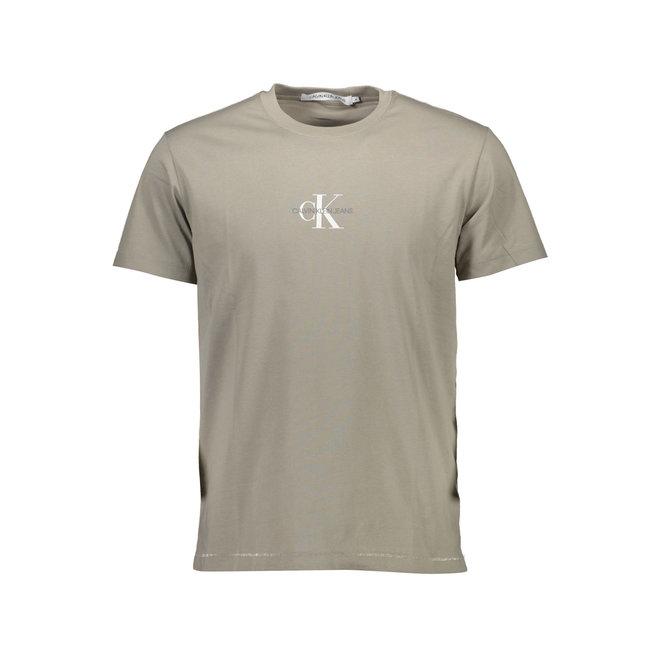 CK Logo T-Shirt Men - Beige