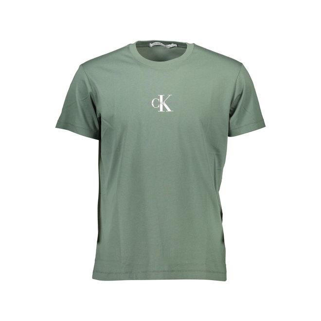 CK Logo T-Shirt Men - Green
