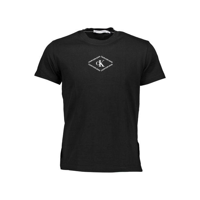 Monotriangle CK T-Shirt Men - Black