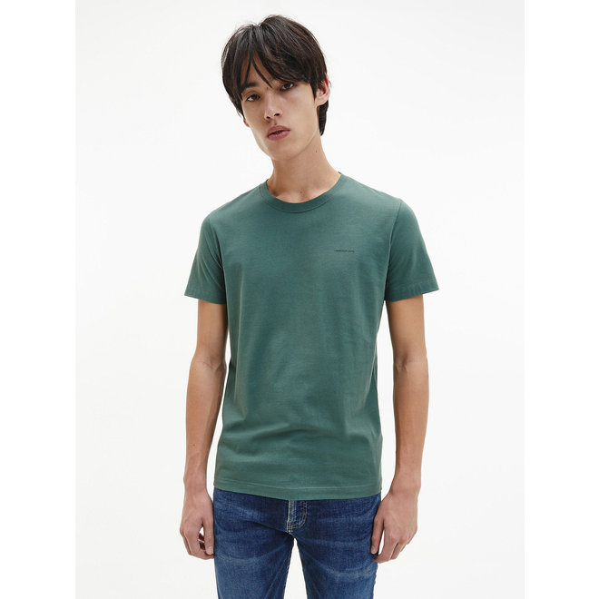 2 Pack Slim Organic Cotton T-shirt Men - Green/Black