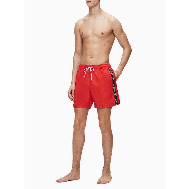 Medium Drawstring Swim Shorts - Core Logo Tape - Hight Risk