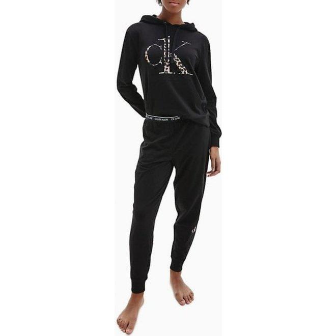 CK Pyjama Sweatshirt Hoodie Women - Black