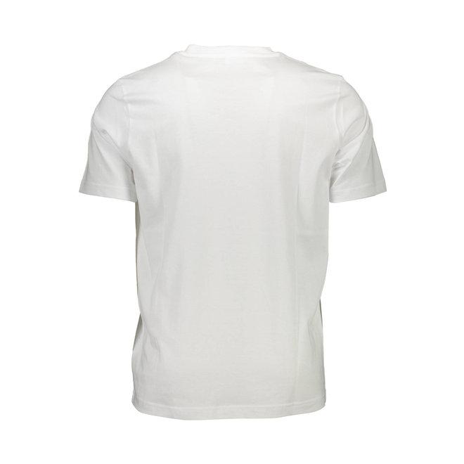 T-DIEGO-J8 miesten T-Paita - Valkoinen