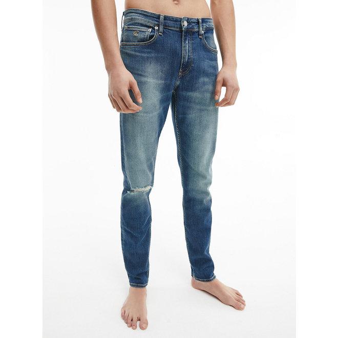 Slim Tapered Jeans Men -Denim light