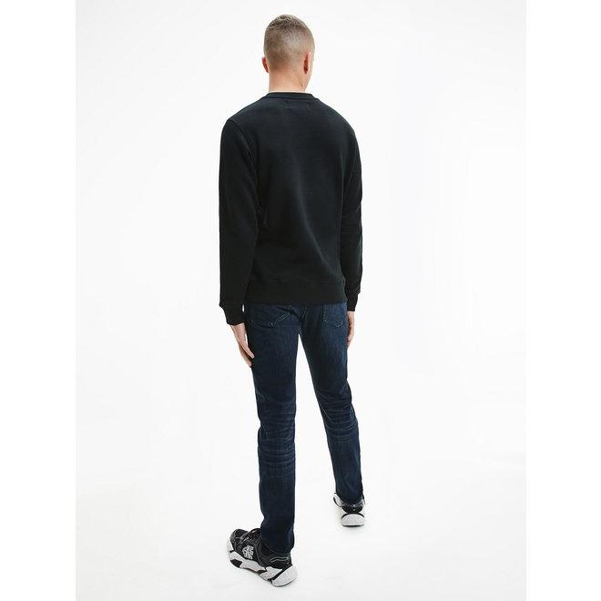 Embroidered Logo Sweatshirt Men - CK Black