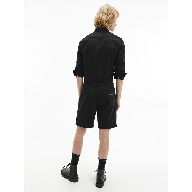 Slim Cotton Stretch Shirt Men - CK Black
