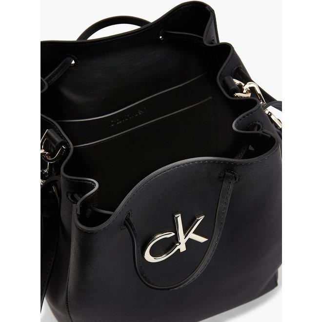 Crossbody Bucket Bag - CK Black