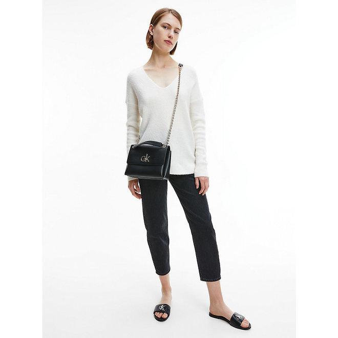 Recycled Convertible Crossbody Bag CK Women - Black