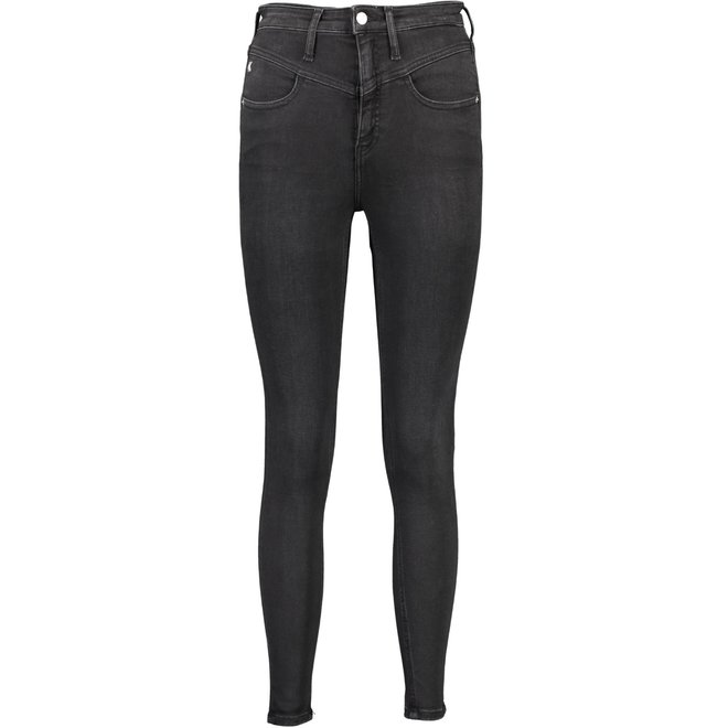 Women High Rise Super Skinny Ankle Jeans