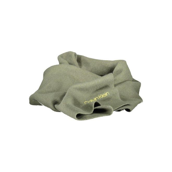 Boiled Wool Scarf - Green