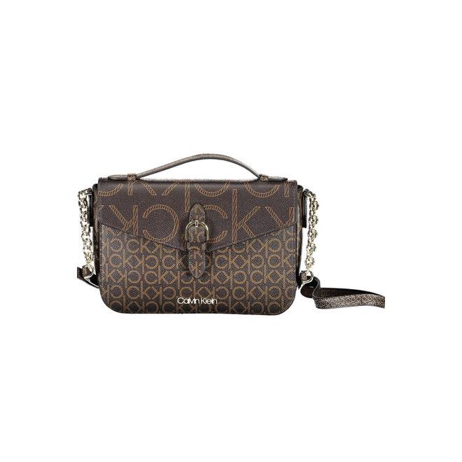 Small CK Shoulder Bag Women - Brown
