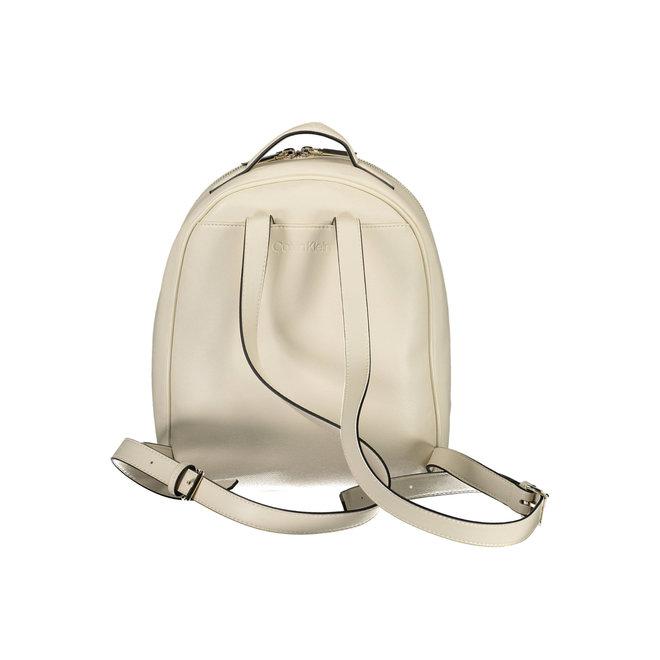 Small Round CK Backpack Women - Birch