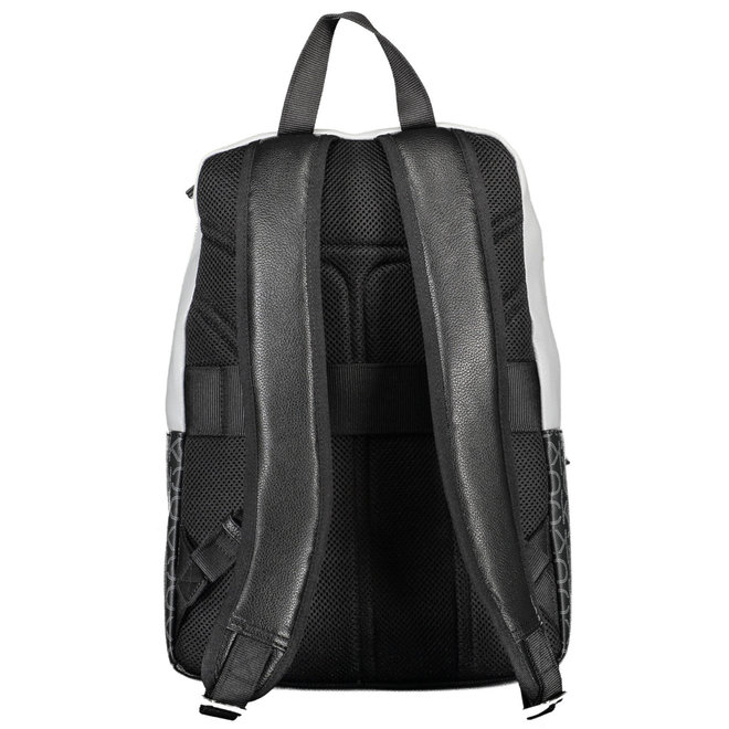 Round logo backpack - Black/blue mix