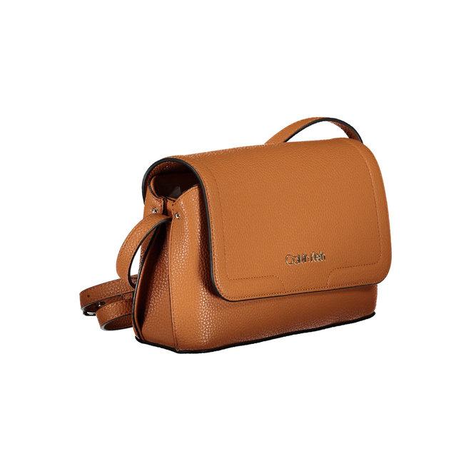 Flap Xbody CK Shoulder Bag Women - Brown