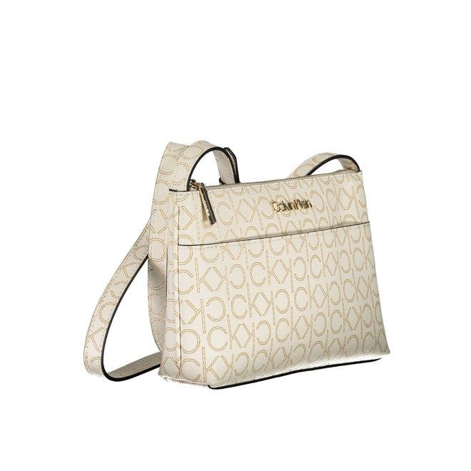 CK Crossbody Monogram Bag Women - Beige