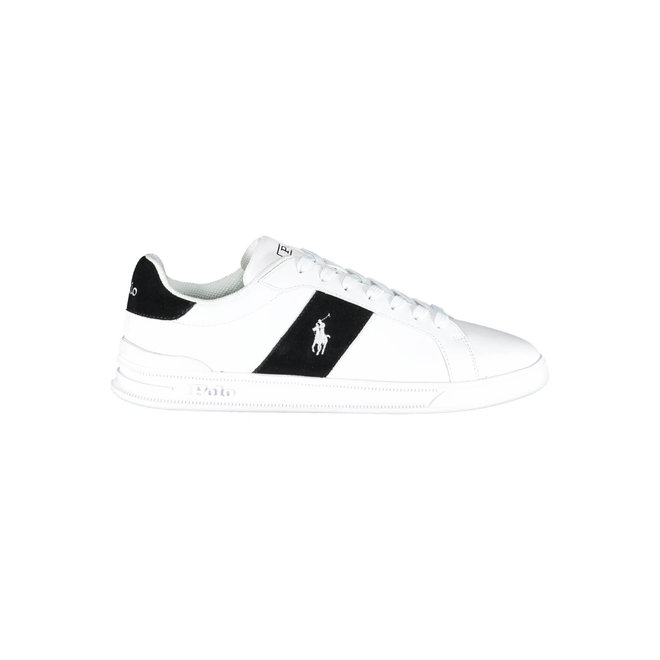 Heritage Court II Leather Trainer - White/Black