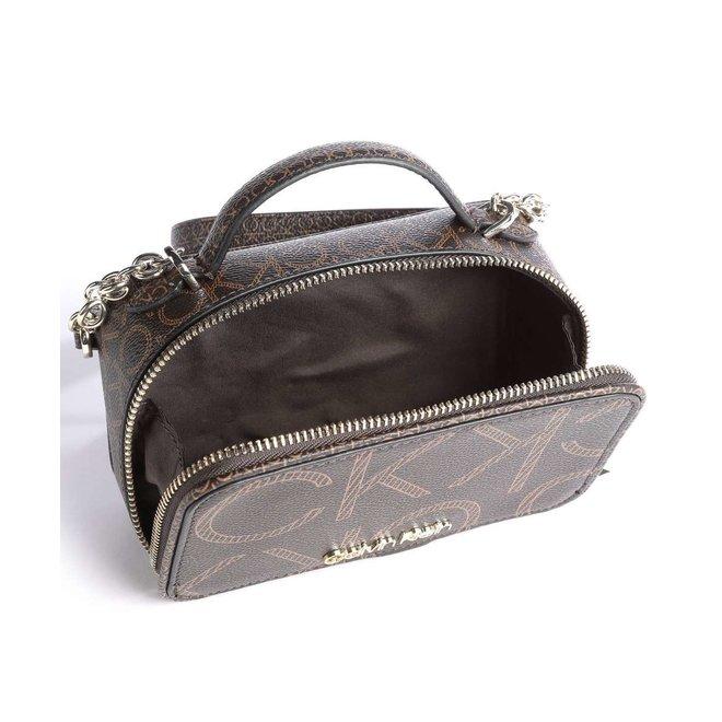 Mono Scale CK Shoulder Bag synthetic  - Dark Brown