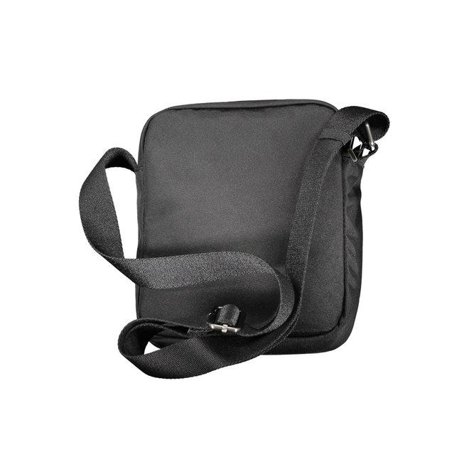 Small Polyester Nylon Crossbody Bag Men - Black