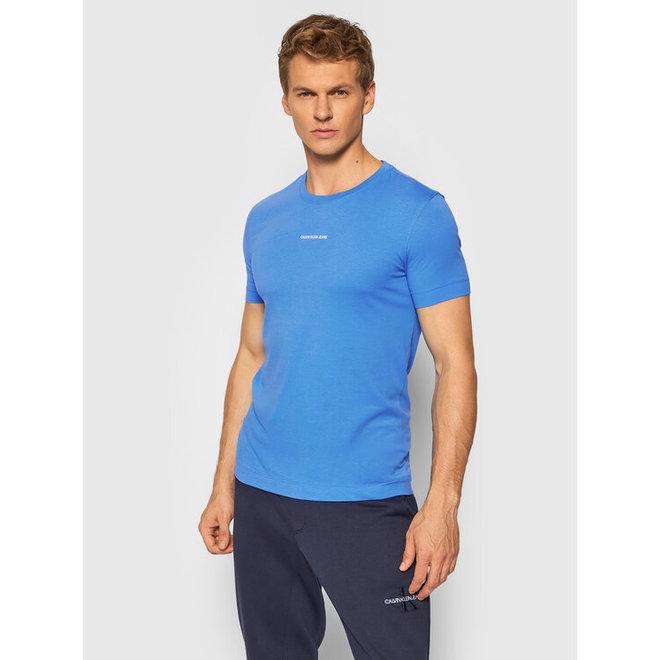 Slim Organic Cotton T-Shirt - Ck The Basics Men - Light Blue