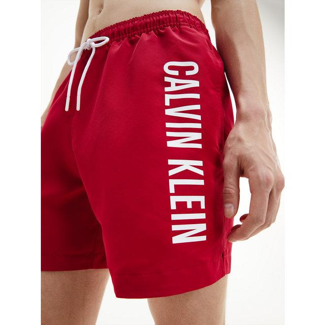 CK Medium Drawstring Swim Shorts Men - Panama Rose