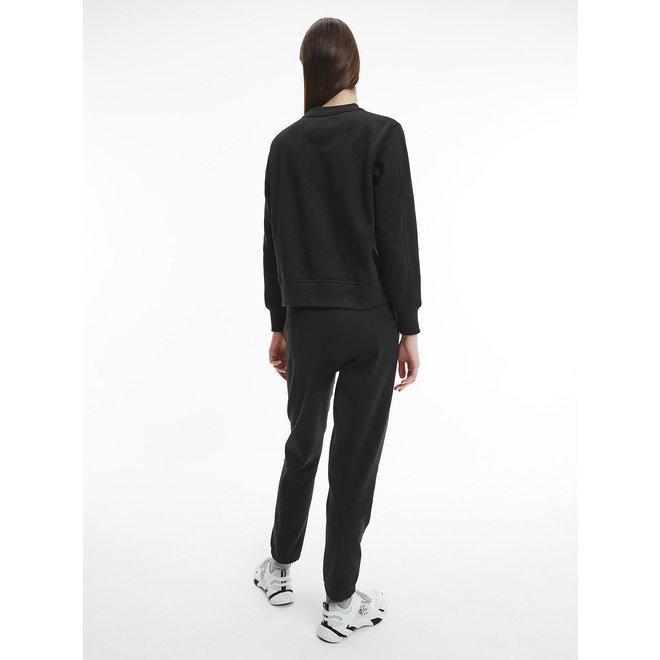 CK  Relaxed Organic Cotton Sweatshirt Women - Black
