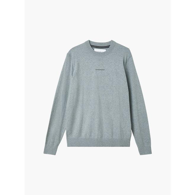 Cotton Stretch CK Jumper Men - Grey