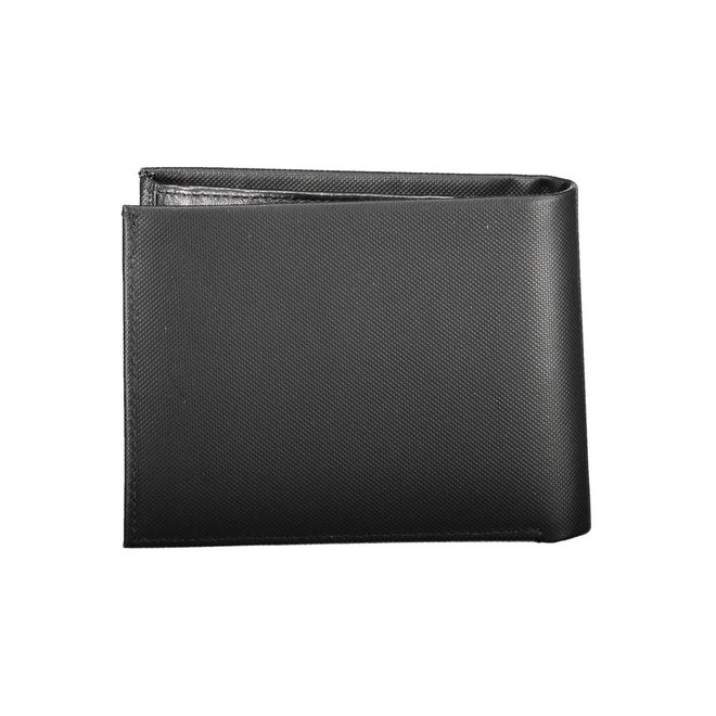 Large Men's Trifold Wallet - CK Black