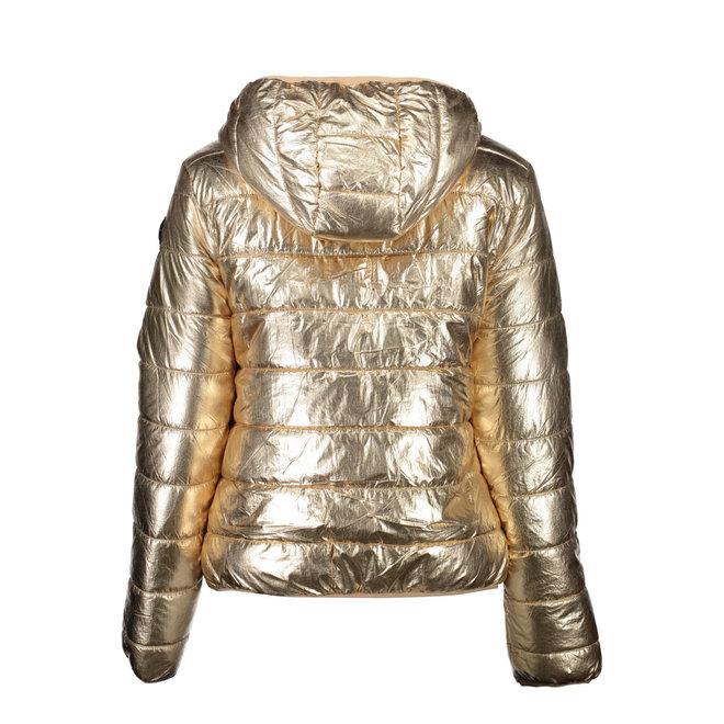 Reversible USPA Jacket Women - Beige/Gold
