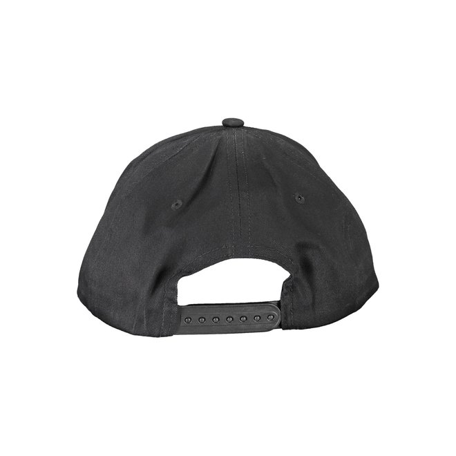 Cotton Twill Logo Cap CK - Black