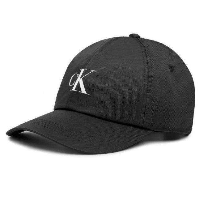 Cotton Twill CK Logo Cap - Black