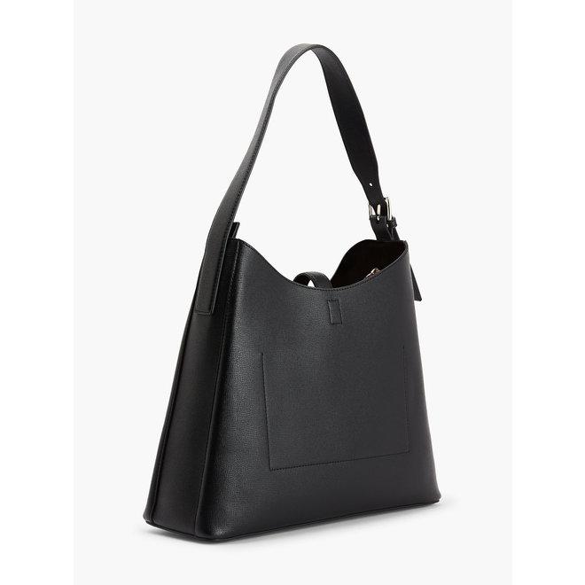Lock Hobo Bag CK Women - Black