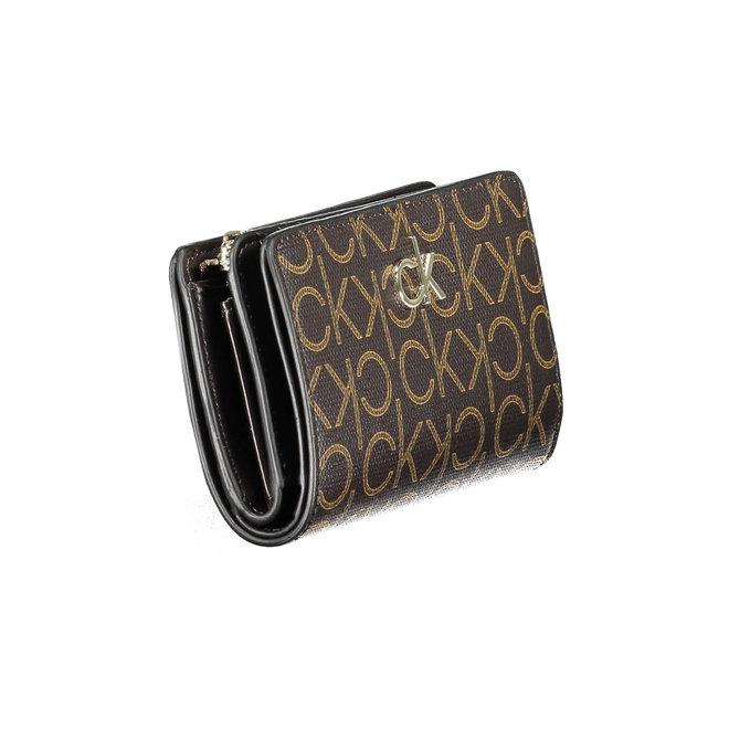 Large CK Monogram Women's Wallet