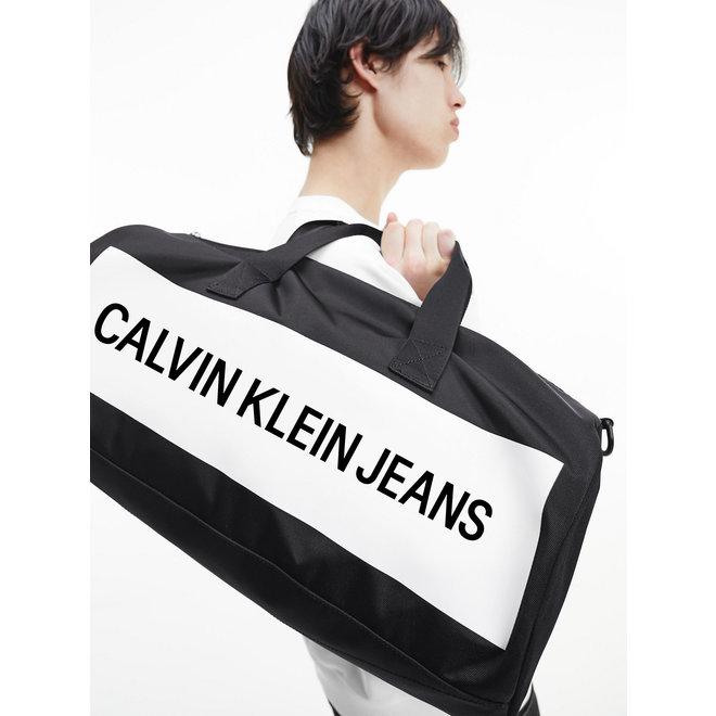 Recycled Polyester Duffle Bag CK Men - Black