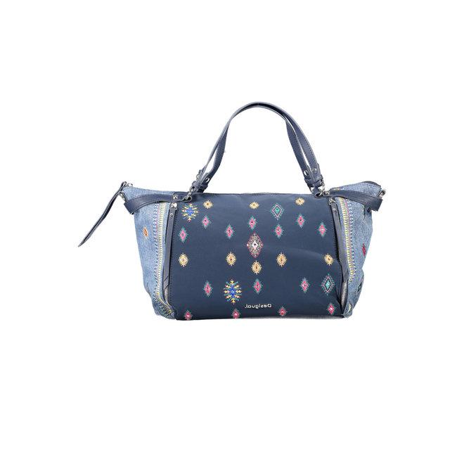 Handbag embroideries Women - Blue