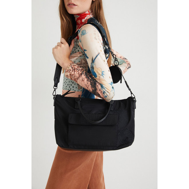 Handbag mandalas Women - Black
