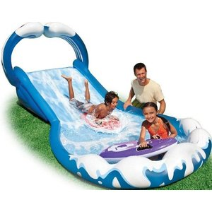 Intex Surf 'N Slide Waterglijbaan incl. 2 surfboards