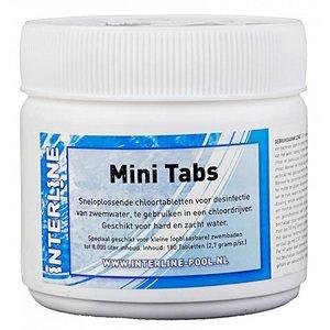 Interline Chloortabletten Mini Tabs - 180 stuks