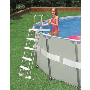 Intex Zwembadtrap met afneembare treden - 122cm