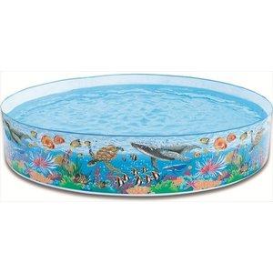 Intex Opzetzwembad met Oceaanprint 244 x 46 cm