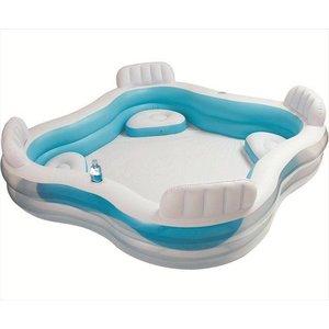 Intex Relax opblaasbaar zwembad met stoeltjes